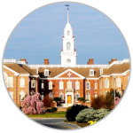 A picture of Legislative Hall in Dover Delaware