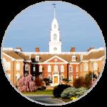 A picture of Legislative Hall in Dover Delaware