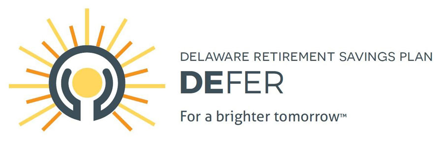 Delaware Retirement Savings Plan - DEFER Logo