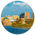 A picture of the Wilmington Riverfront